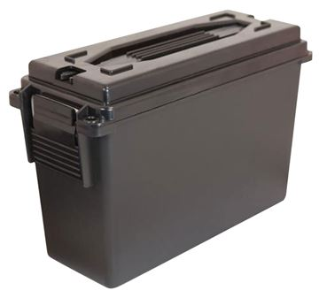 Picture of BERRYS MANUFACTURING INC Ammo Can BERRYS 12887    30 CAL PLASTIC AMMO CAN BLACK 4 PK 711148128876