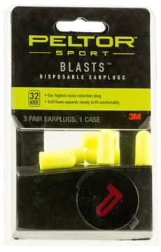 Picture of 3M CO PELTOR Blasts PEL 97080 BLASTS DISPOSABLE EARPLUGS 78371970802