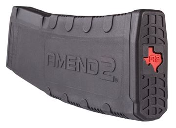 Picture of AMEND 2 MAGAZINES  AMEND A2TX-556BLK30   MAG AR15 30RD BLK TEXAS LOGO 680270811034