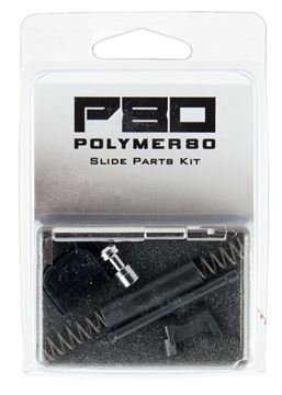 Picture of POLYMER 80 INC  P80 PFP-SKIT-BLK GRY  GLK 9MM SLIDE PART KIT G1-4 819925021485