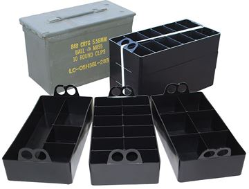 Picture of MTM MOLDED PRODUCTS CO Ammo Can MTM ACO       AMMO CAN ORGANIZER   BLK 26057362380
