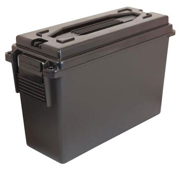 Picture of BERRYS MANUFACTURING INC Ammo Can BERRYS 00330    40 CAL PLASTIC AMMO CAN BLACK 4 PK 711148003302
