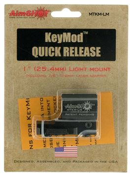 Picture of AIMSHOT KeyMod AIMS MTKMQRLM    LIGHT MOUNT QR KEYMOD 669256612124
