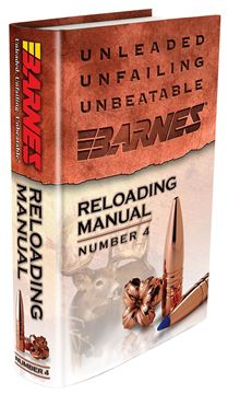 Picture of BARNES BULLETS INC Reloading Manual BRNS 30745 RELOADING MANUAL  4 716876011087