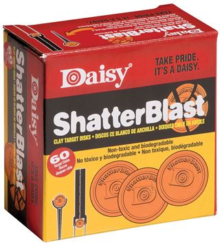 Picture of DAISY MANUFACTURING CO ShatterBlast DAISY 990873-406 SHATRBLST CLAY TGT 60 39256808733