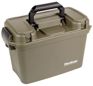 Picture of FLAMBEAU OUTDOORS Shotshell FLAM 1408ST  14  SHOTSHELL CAN W TRAYS 71617093150
