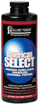 Picture of ALLIANT POWDER VISTA American Select ALLIANT 150823 AM SELECT SG POWDER 1LB 8307700012