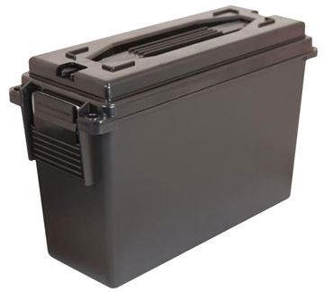 Picture of BERRYS MANUFACTURING INC Ammo Can BERRYS 56235    20 CAL PLASTIC AMMO CAN BLACK 4 PK 711148562359