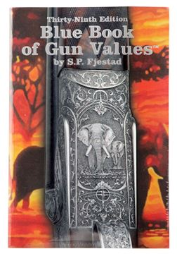 Picture of BLUE BOOK PUBLICATIONS Blue Book of Gun Values BLUE 39   39TH EDITION BLUE BOOK OF GUN VALUES 609068000399