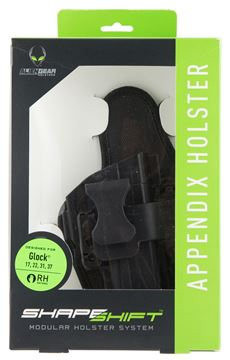 Picture of ALIEN GEAR HOLSTERS ShapeShift AGH SSAP-0118-RH      SHAPE SHIFT APPENDIX LC9 843396191224