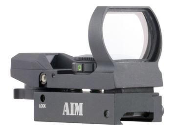 Picture of AIM SPORTS INC Dual Illuminated AIMSPORTS RT4-WF1   RED DOT WARFARE 4RET 815879013231
