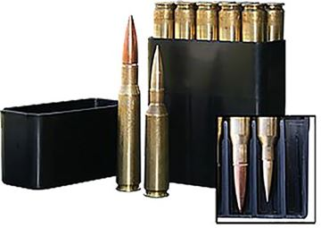 Picture of MTM MOLDED PRODUCTS CO 50 BMG MTM BMG1040   10RD 50BMG SLIPTOP  BLK 26057232409