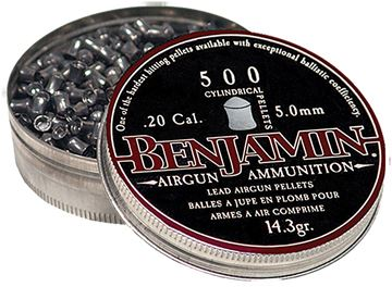 Picture of BENJAMIN SHERIDAN CORP Cylinder BEN P50       CYLNDRCL PEL 20CAL   500 11482000150
