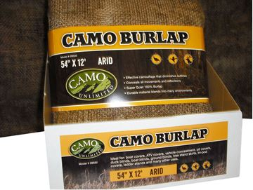 Picture of CAMO UNLIMITED Camo CAMO 9550 BURLAP ARID     54X144 690104028132