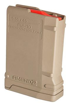 Picture of AMEND 2 MAGAZINES AR-15 AMEND 556MOD2FDE10    MAG AR15 10RD FDE 852675128325