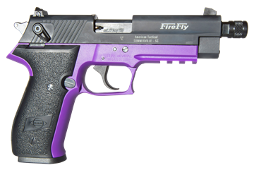 Picture of AMERICAN TACTICAL INC  GSG G2210TFFL     FIREFLY 22LR TB  PURP 10R 819644022060