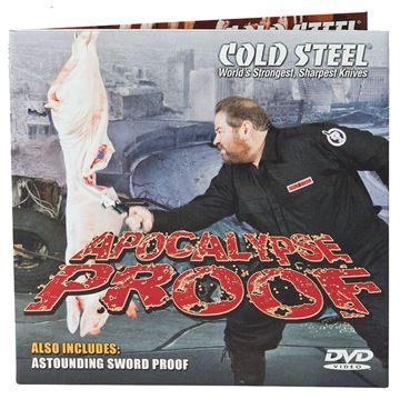 Picture of COLD STEEL DVD COLD VDAPOX APOCALYPSE PROOF       DVD 705442012177