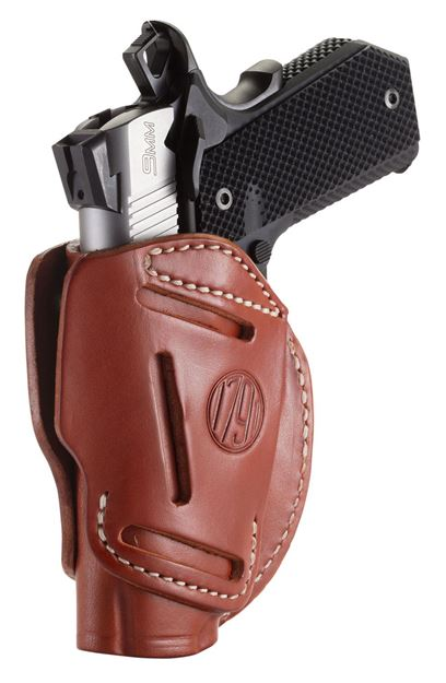 Picture of 1791 GUNLEATHER 3 Way 1791 3WH-1-CBR-A   3WAY OWB 1911 3 4           BRN 816161021606