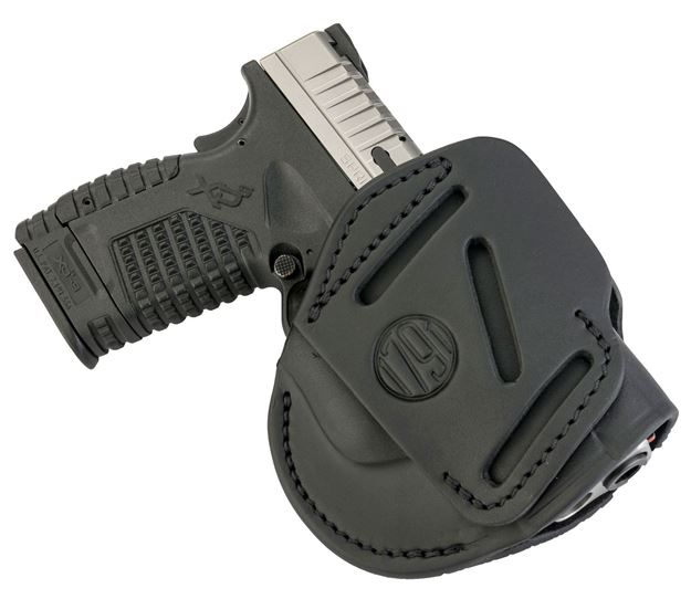 Picture of 1791 GUNLEATHER 3 Way 1791 3WH-4-SBL-A   3WAY OWB XD XDS G2C PPS     BLK 816161020166