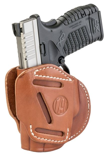 Picture of 1791 GUNLEATHER 3 Way 1791 3WH-4-CBR-A   3WAY OWB XD XDS G2C PPS     BRN 816161021576