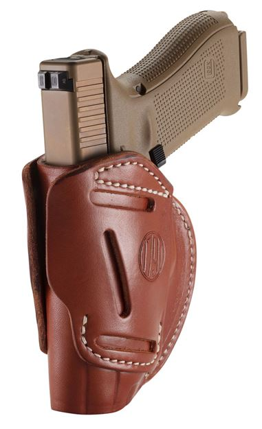 Picture of 1791 GUNLEATHER 3 Way 1791 3WH-5-CBR-A   3WAY OWB GLK17 VP9 MP9 XD9  BRN 816161021231