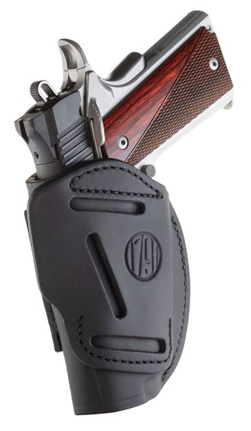 Picture of 1791 GUNLEATHER 4 Way 1791 4WH-1-SBL-R   4WAY IWB OWB SIZE 1         BLK 816161020036