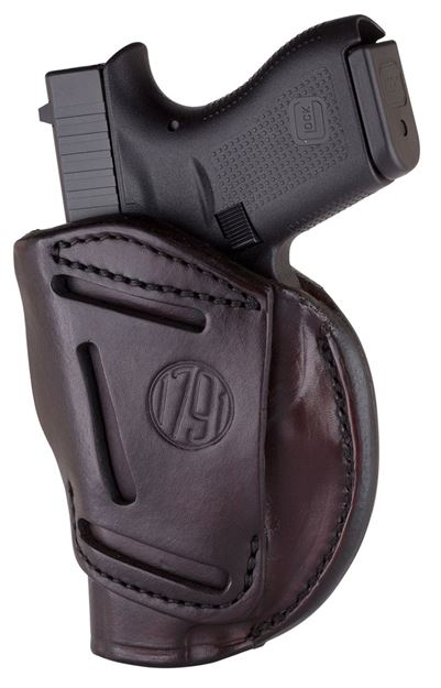 Picture of 1791 GUNLEATHER 4 Way 1791 4WH-1-SBR-R   4WAY IWB OWB SIZE 1 SIGNTRE BRN 816161020081