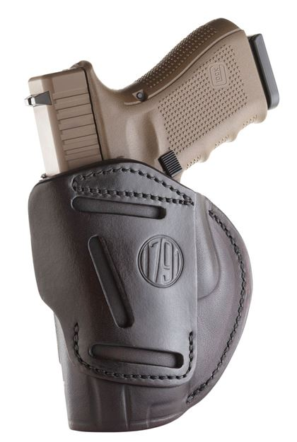 Picture of 1791 GUNLEATHER 4 Way 1791 4WH-5-SBR-R   4WAY IWB OWB SIZE 5 SIGNTRE BRN 816161020128