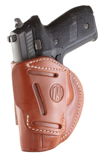 Picture of 1791 GUNLEATHER 4 Way 1791 4WH-5-CBR-R   4WAY IWB OWB SIZE 5 CLASSIC BRN 816161021262