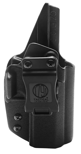 Picture of 1791 GUNLEATHER Tactical Kydex 1791 TAC-IWB-CZP10-BLK-R   KYDEX IWB 816161024577