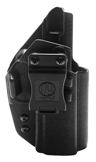 Picture of 1791 GUNLEATHER Tactical Kydex 1791 TAC-IWB-P320-BLK-R    KYDEX IWB 816161024560