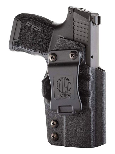 Picture of 1791 GUNLEATHER Tactical Kydex 1791 TAC-IWB-P365-BLK-R    KYDEX IWB 816161024553