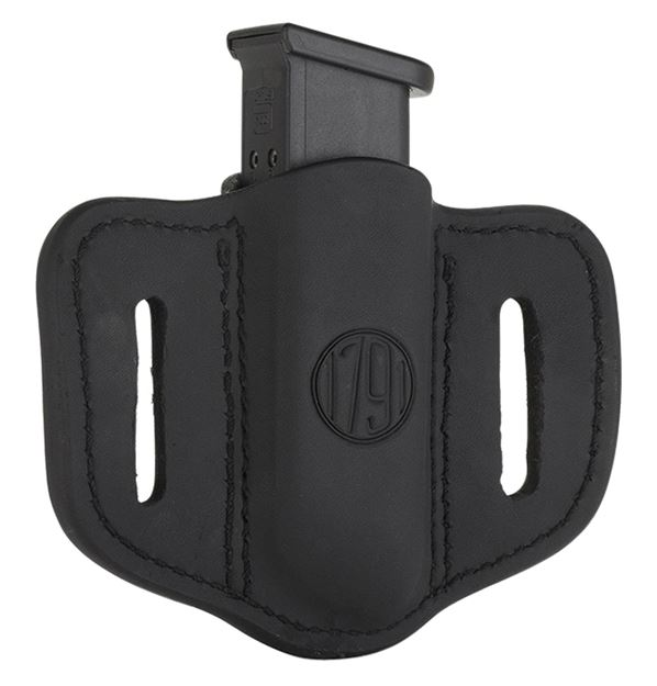 Picture of 1791 GUNLEATHER MAG1.2 1791 MAG-1.2-SBL-A  SINGLE MAG DOUBLE STACK    BLK 816161021170