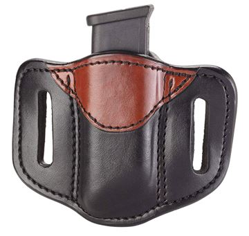 Picture of 1791 GUNLEATHER MAG1.2 1791 MAG-1.2-BLB-A  SINGLE MAG DOUBLE STACK  BR BK 816161021880