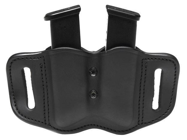 Picture of 1791 GUNLEATHER MAGF 1791 MAG-F-2.2-SBL-A DBL MAG POLY DBL STACK    BLK 816161024850
