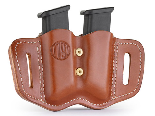 Picture of 1791 GUNLEATHER MAGF 1791 MAG-F-2.2-CBR-A DBL MAG POLY DBL STACK  C.BRN 816161024867