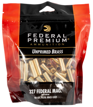Picture of FEDERAL CARTRIDGE VISTA Gold Medal FED PH327UPB100    GM 327FED UNP BAGGED BRASS 100 29465064464